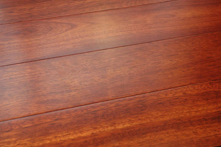Brazilian cherry brazilian cherry premium solid hardwood for Solid hardwood flooring
