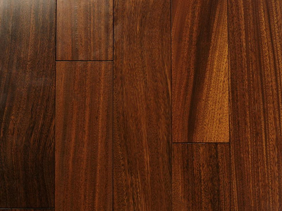 Greenland Hardwood Brazilian Teak Floor Natural