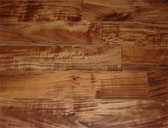 Greenland Multilayer Engineered 5 inch Hardwood Floor Walnut Natural Flooring