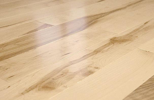 Floorus 34 Solid Hardwood Maple Floor Natural Country Style