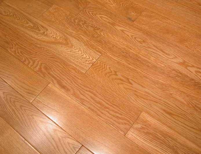 Floorus 34 Solid Hardwood Oak Floor Butterscotch