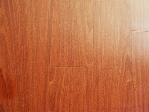 Floorus 123mm Piano Finish Laminate Flooring Diamond Mahogany