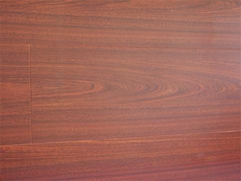 Floorus 123mm Piano Finish Laminate Flooring Diamond Walnut