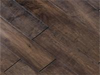 Multilayer Distressed Hardwood Maple Floor Cherry Spice