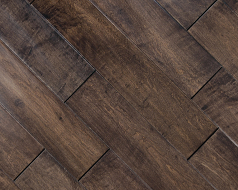 9 16 multilayer distressed hand scraped for Distressed wood flooring