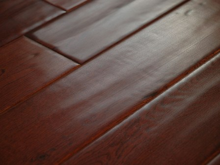 9 16 multilayer distressed hand scraped for Leather flooring cost