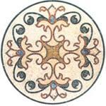 Mosaic Medallion 006