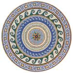 Mosaic Medallion 007