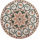 Mosaic Medallion 008