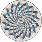 Mosaic Medallion 012