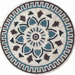 Mosaic Medallion 013