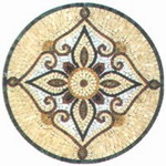 Mosaic Medallion 014
