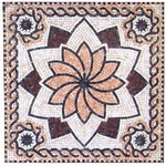 Mosaic Medallion 016