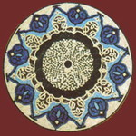 Mosaic Medallion 026