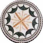 Mosaic Medallion 001