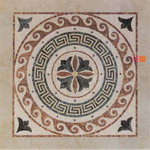 Mosaic Medallion 019